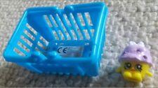Shopkins SERIE 1 MINI MUFFIN #1-037 & carrello Originale Menta FREGATURA