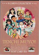 Tenchi Muyo 8 Postcard Set