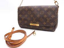 Auth LOUIS VUITTON Favorite MM 2way Chain Shoulder Hand Bag Monogram M40718 4737