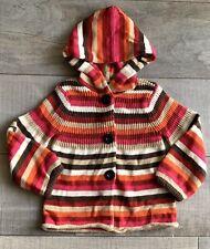 Gap Kids Girls Size 3 3t Sweater Striped Cardigan Fall Button