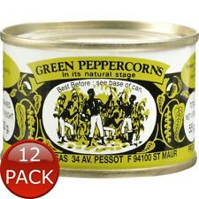 12 x MOULIN MADAGASCAR GREEN PEPPERCORNS SPICES CONDIMENTS FLAVOUR COOKING 55g