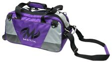 Motiv Ballistix PURPLE 2 Ball Roller/Tote Bowling Bag