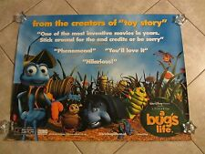 "A Bug's Life movie poster - original uk quad movie poster - Disney - 30"" x 40"""
