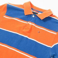 VGC Vintage TOMMY HILFIGER Striped Polo Shirt | Mens XS | Retro Wavey 90s Stripe