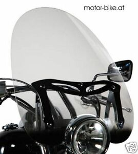 Windschild Plexi Givi A41N custom Scheibe universal 54 x 52