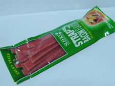 "NATURAL DOG TREAT CHEWY SNACK ""BACON"" FLAVOR STRAP NEW"