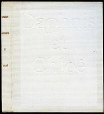 Les Pastorales de Longus, ou DAPHNIS ET CHLOE, ill. Bonnard -Club Français Livre