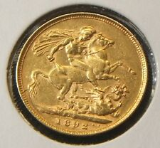 1892-M~~QUEEN VICTORIA JUBILEE~~SOVEREIGN GOLD COIN~~XF-BEAUTY~~BETTER DATE