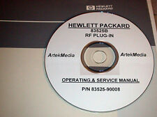 HP  83525B Operating  & Service Manual