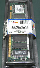 KINGSTON kvr100x72c2 / 64 (64 MB, SDRAM, 100 MHz)