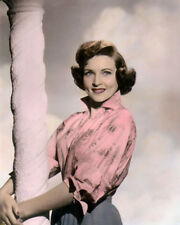 "BETTY WHITE HOLLYWOOD ACTRESS COMEDIENNE 8x10"" HAND COLOR TINTED PHOTOGRAPH"