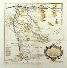 BELLIN, N. - (1757)map of western Mali with the Senegal and Niger Rivers
