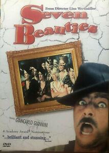 Seven Beauties DVD Giancarlo Giannini - 1975 WW2 War Comedy Drama Movie