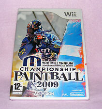 Nintendo Wii Game - Millennium Championship Paintball 2009
