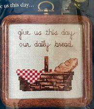 Cross Stitch Kit GIVE US THIS DAY...Includes Frame Vintage Project Dale Burdett