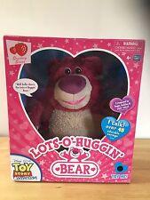 Toy Story Signature Colección Lotso Huggin Interactive Bear-caja Y Certificado