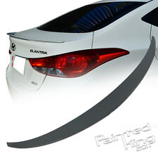 For Hyundai ELANTRA MD/UD REAR TRUNK WING SPOILER ABS 4DR SEDAN