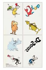 Dr Seuss Tattoos - Party Favours and Loot Ideas - Selling stickers too! Birthday