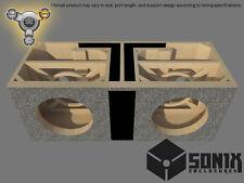 STAGE 3 - DUAL PORTED SUBWOOFER MDF ENCLOSURE FOR ROCKFORD FOSGATE T1D212-T1D412