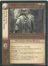 Lord Of The Rings CCG Card RotK 7.R9 Gimli's Battle Axe, Trusted Weapon