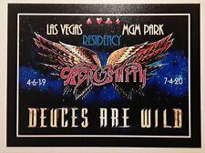 ☆ AEROSMITH ♤ Deuces ♡ Are ◇ Wild ♧ MGM Las Vegas ☆ FRIDGE MAGNET..
