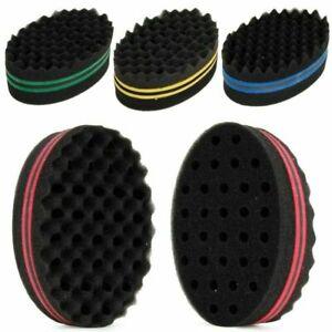 Double Wave Magic Hair Twist Sponge Twisting Locks Dreadlocks Curly Brush Sponge