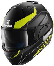 SHARK EVO ONE KRONO KYW BLACK/YELLOW MOTORCYCLE HELMET - LARGE