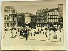 Brussels 1918 End of German Occupation Vintage B&W Photo WW 1