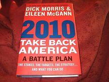 Take Back America 2010 : A Battle Plan  Dick Morris (2010, HD) SIGNED