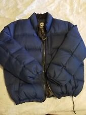 TIMBERLAND PUFFY BLUE DOWN COAT SIZE 2XL
