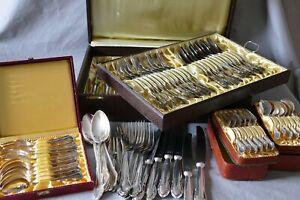 4680 Gramm versilberte BESTECKE  90 Silberauflage