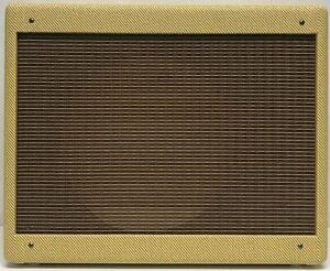Narrow Panel Tweed Deluxe® Guitar 5E3 Amplifier Extension Speaker Cabinet