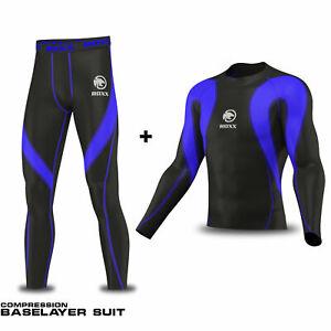 Compression Base layers Rash Guard suite Under wear Top Skins ROXX Sports
