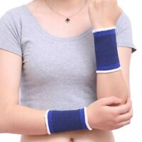 Elastic Wrist Support Brace Strap Gym Weight Lifting Arthritis Sprains Strains