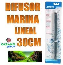 Piedra difusora 30cm lineal Marina aire compresor oxigenador CO2 acuario difusor