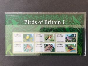 presentation pack and post & go birds of britain 1 royal mail 2010 mint stamps