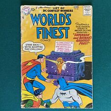 DC Comics Silver Age World's Finest #88  1957