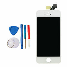 NEW WHITE SILVER 16GB APPLE IPHONE 5 5G REPLACEMENT TOUCH SCREEN DISPLAY TOOLS
