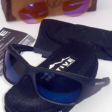 Native Grind Polarized Sunglasses-Asphalt (Matte Black)-Blue ReFlex & SportFlex