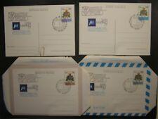 1977  San Marino  Centenario 2  Aereogrammi  e 2 Cartoline postali  FDC Set