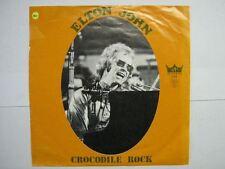 ELTON JOHN 45 TOURS BELGIQUE CROCODILE ROCK