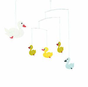 Ugly Duckling Mobile Flensted Modern Danish Nursery Decor Hanging Mobile
