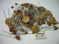 Capacitor Ceramic Disc Assorted Grab-Bag - NOS Vintage Lot