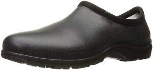 Men's Sloggers Waterproof Comfort Rain/Garden Shoes Black Size 11 Clogs