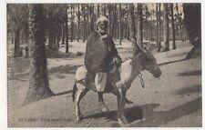 Egypt, Le Caire, Palm Wood Postcard, B196