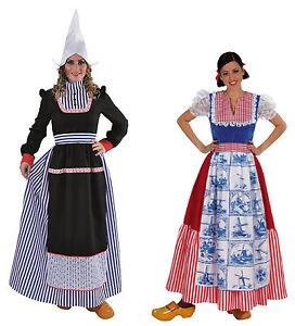 Holländerin Kostüm Frau Antje Tracht Dirndel Holländer Holland Hollandkostüm