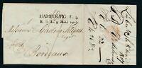 HAMBURG 1807, HAMBOURG. R. 4. (Berg. OPA) klar auf kplt. Vorphilabrief!!