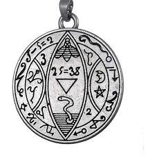 Pagano Wicca Viking 5 Talismán infernal potencia Pentáculo Colgante Sello De Salomón