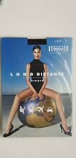 WOLFORD LONG DISTANCE support TIGHTS ADMIRAL dark blue size L large Travel &work