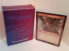 MTG Standard  & Theme Decks - Blue & Red Improvise Magic the Gathering